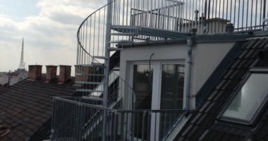 Dachterrassen und Balkone